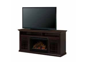 Image for Hazelwood Media Console Electric Fireplace