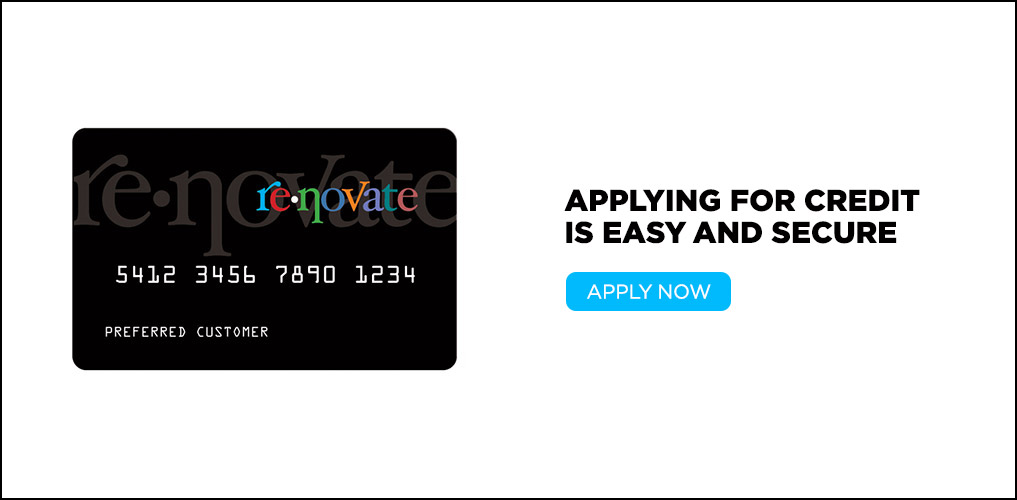 Renovate - Apply For Credit
