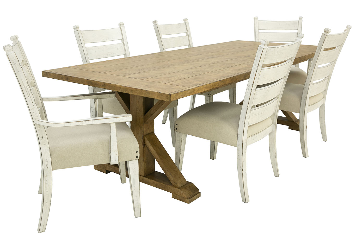 COMING HOME 7 PIECE DINING,KLAUSSNER