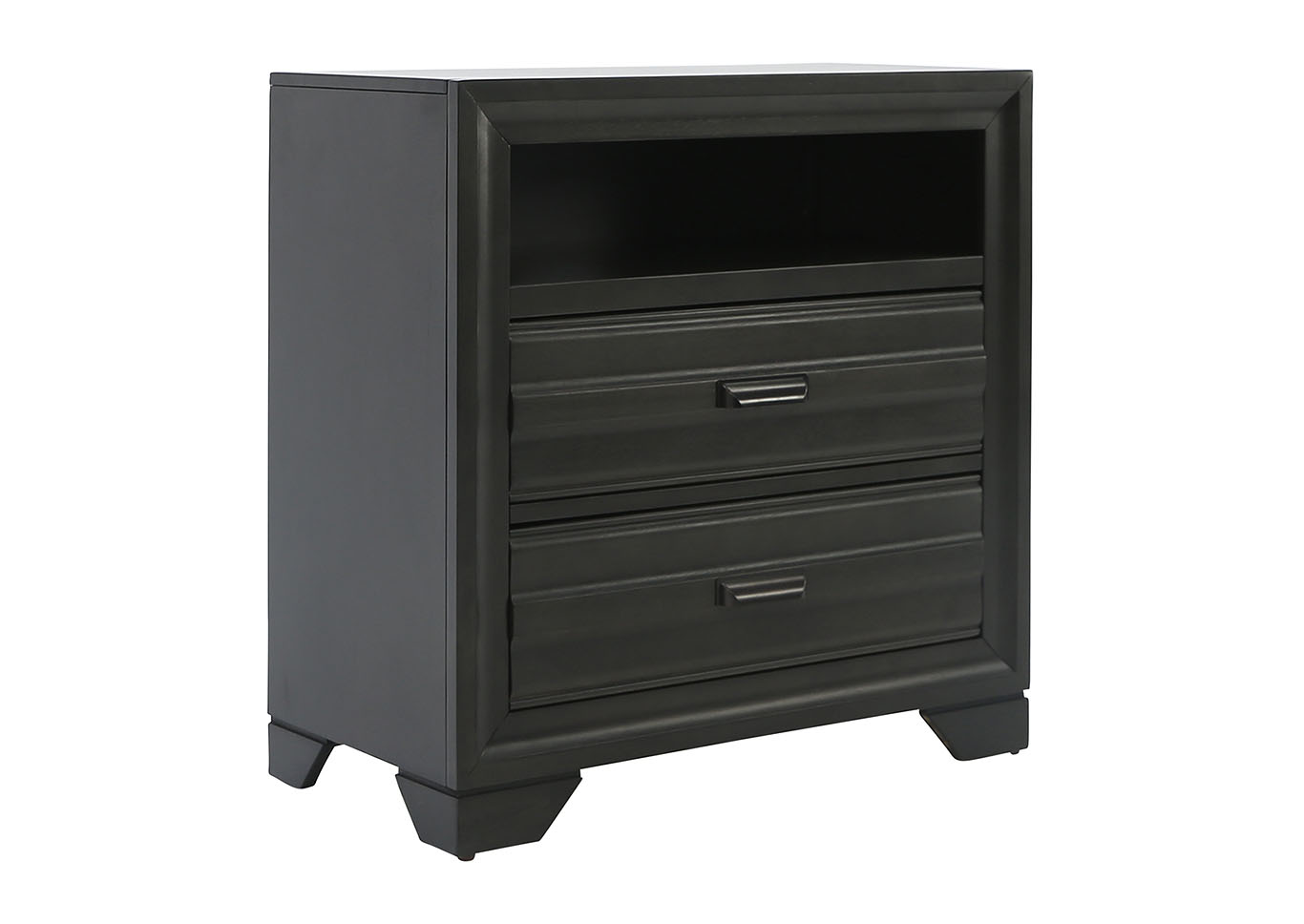 ASLINN ANTIQUE GREY MEDIA CHEST,LIFESTYLE FURNITURE