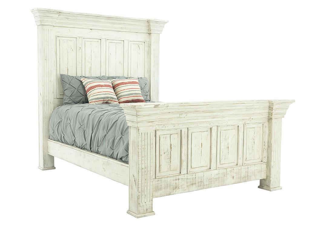 Terra White King Bed Ivan Smith Furniture
