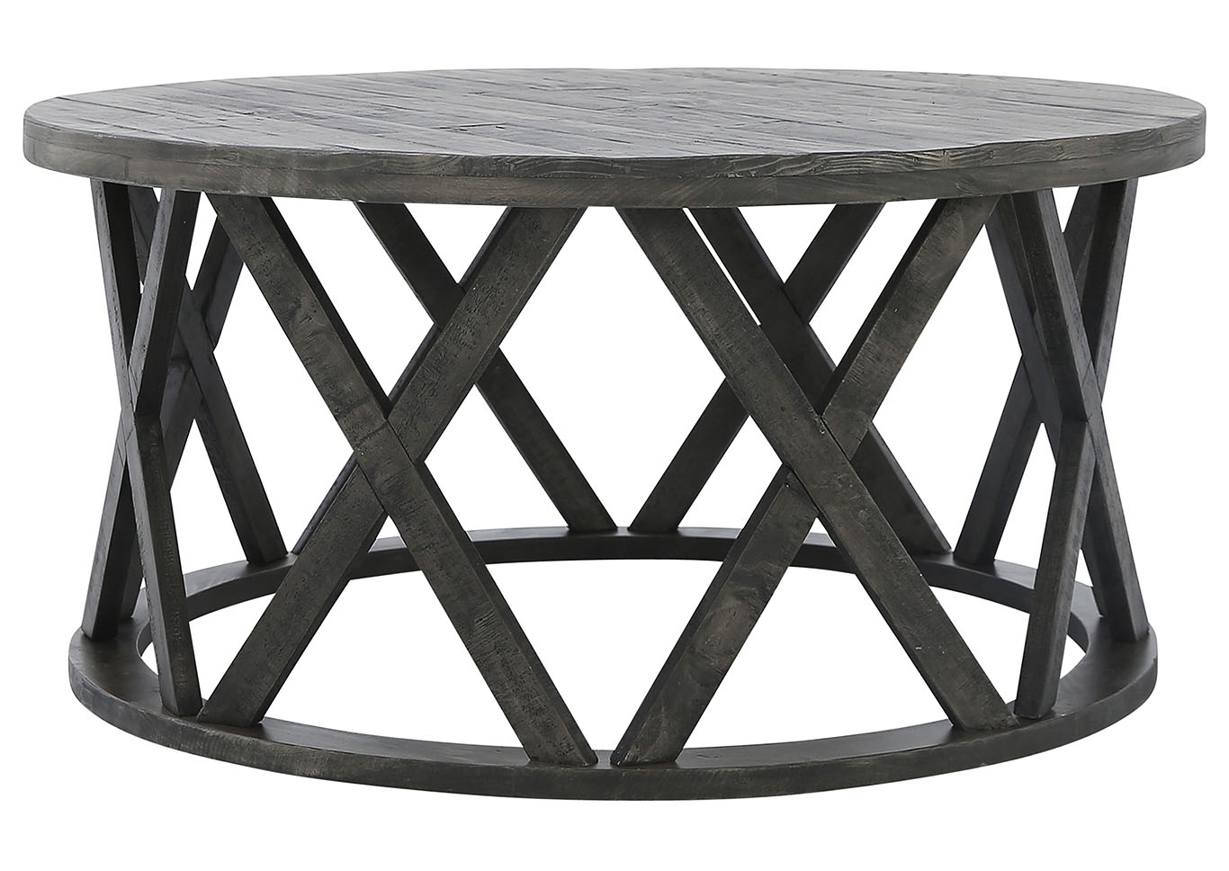 Sharzane Round Cocktail Table Ivan Smith