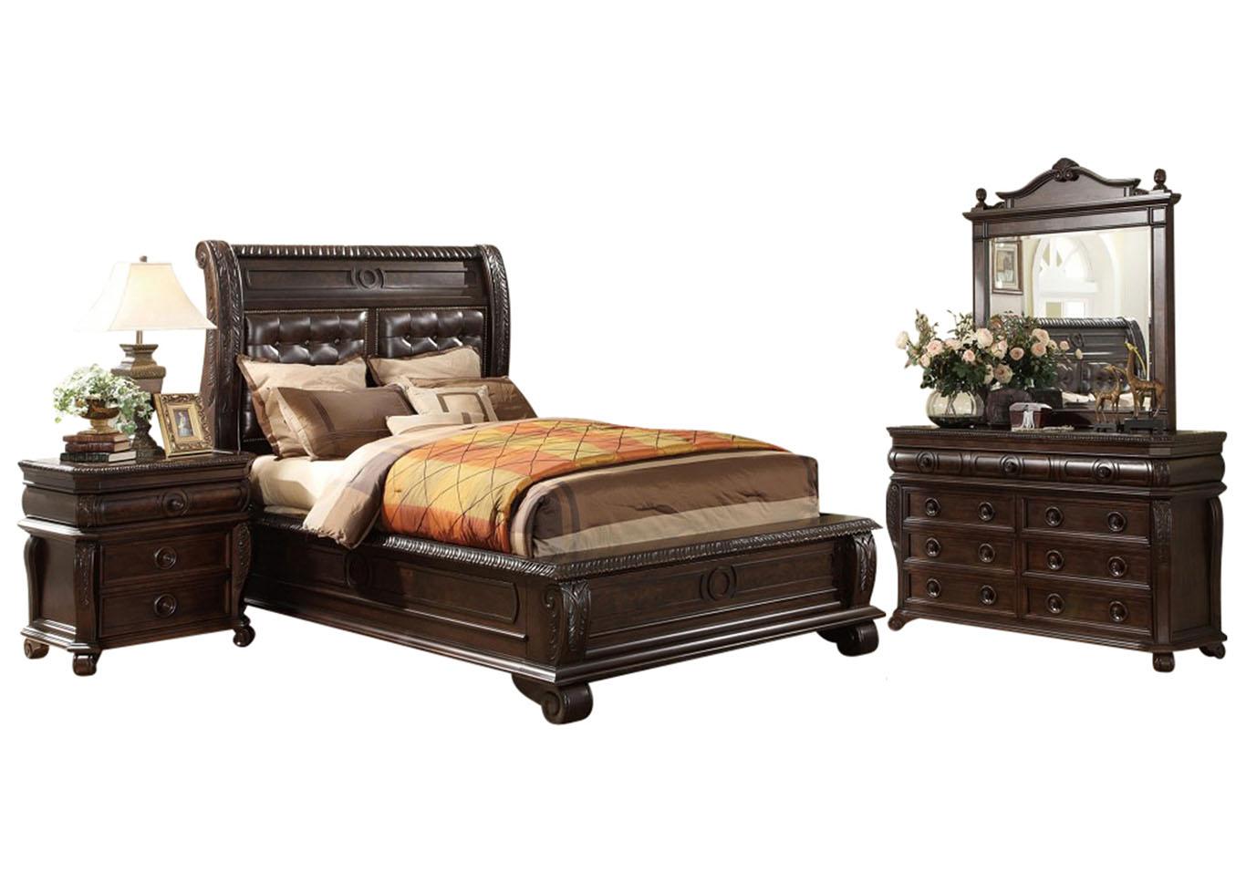 Hillsboro King Bedroom Set Ivan Smith Furniture