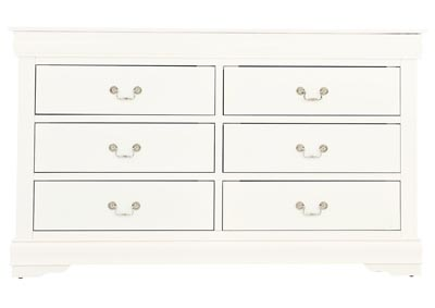 Image for LOUIS PHILIP WHITE DRESSER