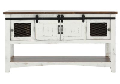 Image for PUEBLO WHITE SOFA TABLE