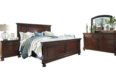 PORTER KING PANEL BEDROOM SET,ASHLEY FURNITURE INC.