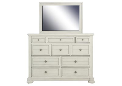 Image for NASHVILLE WHITE DRESSER AND MIRROR
