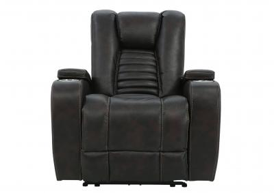 Image for MAYNARD WALNUT POWER RECLINER WITH PHR