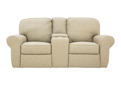 Image for JANE SAGE RECLINING LOVESEAT WITH CONSOLE