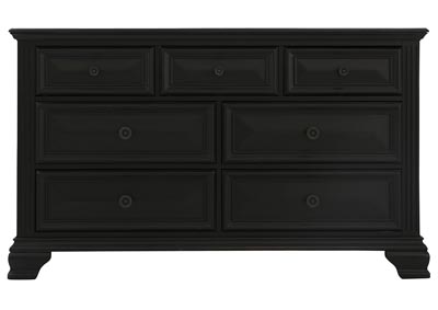 Image for PASSAGES VINTAGE BLACK DRESSER