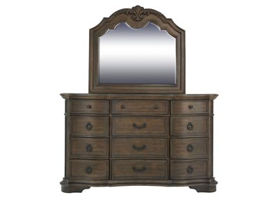 Image for TULSA DRESSER AND MIRROR