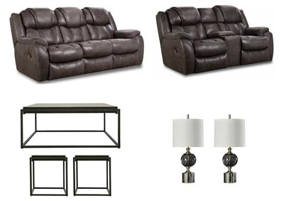 Image for CASON STEEL LIVING ROOM SET