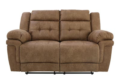 Image for ANASTASIA COCOA RECLINING LOVESEAT