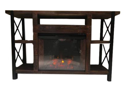 Image for JON X IRON FIREPLACE MEDIA STAND