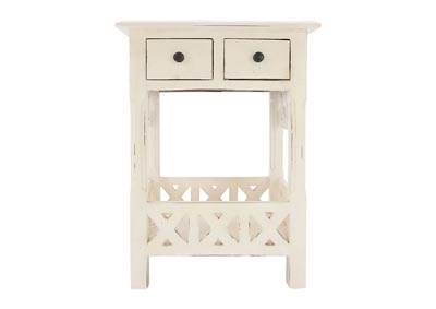 Image for CHRISTIAN IVORY ACCENT TABLE