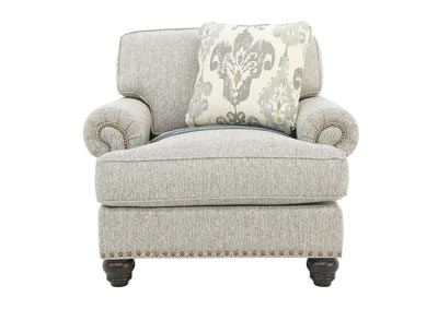 Image for CALLISTA TURINO NAILHEAD CHAIR
