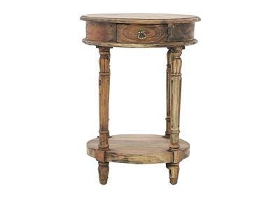 Image for CAROLYN JAVANESE ROUND ACCENT TABLE