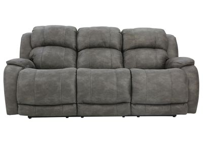 Image for MAXWELL GREY RECLINING SOFA