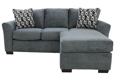 Image for ANNA BLUE SOFA CHAISE