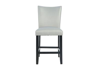 Image for CAMILA COUNTER HEIGHT SILVER SIDE CHAIR