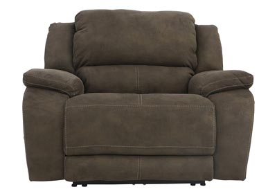 Image for RYLEN MOCHA TRIPLE POWER OVERSIZED RECLINER