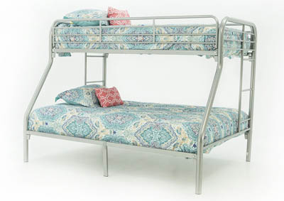 Image for MADISYN SILVER TWIN/FULL BUNKBED