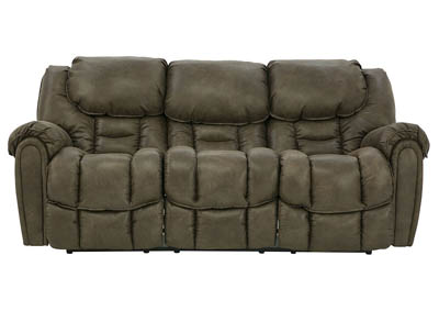 Image for BAXTER MOCHA RECLINING SOFA