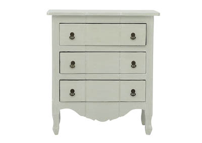 Image for MARGAUX LIGHT GRAY WITH WHITEWASH ACCENT TABLE
