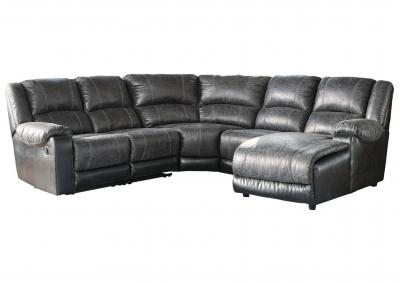 Image for NANTAHALA SLATE 6 PIECE SECTIONAL