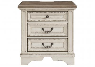 Image for REALYN THREE DRAWER NIGHT STAND