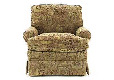 Image for QUINN NUTMEG CLUB CHAIR