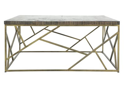 Image for CRAZY CUT IRON COCKTAIL TABLE