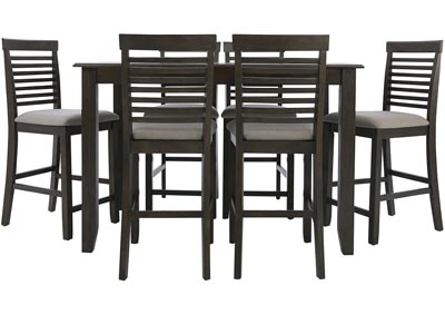 Image for JGW COUNTER HEIGHT 7 PIECE DINING GROUP