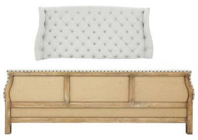 Image for BOHEME QUEEN UPHOLSTERED BED