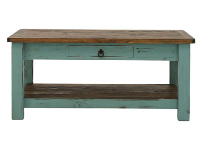 Image for LAWMAN TURQUOISE COCKTAIL TABLE