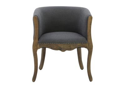 Image for HUNTLEY GREY LINEN CLUB CHAIR