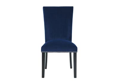 Image for CAMILA BLUE DINING HEIGHT SIDE CHAIR