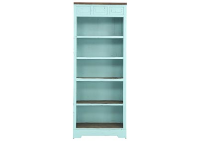 Image for LAWMAN TURQUOISE BOOKCASE