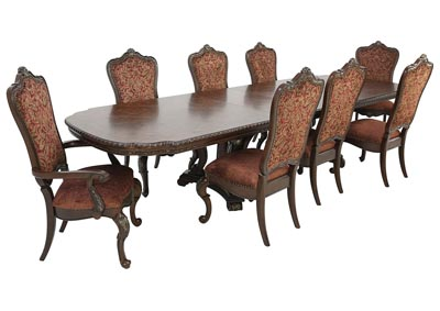 Image for GENEVIEVE 9 PIECE DINING SET