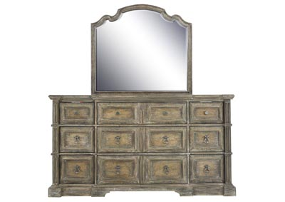 Image for LAGRANGE DRESSER AND MIRROR
