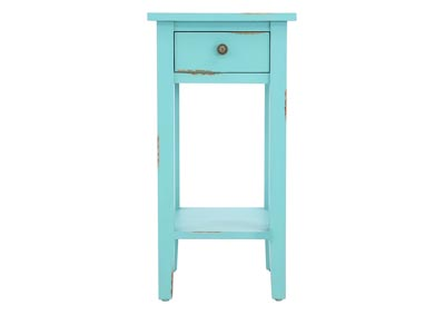 ANDREW ROBINS EGG ACCENT TABLE,1111 IMPORTS, LLC