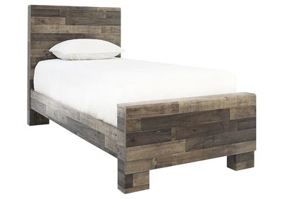 Image for DEREKSON TWIN PANEL BED