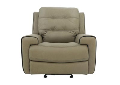 Image for WICKLOW POWER TAUPE RECLINER