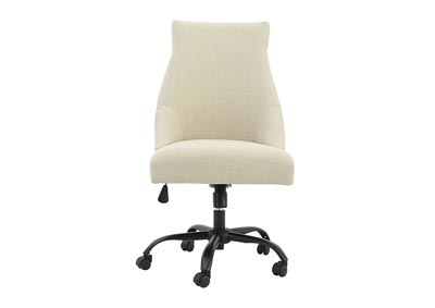 Image for OFFICE CHAIR PROGRAM LINEN HOME OFFICE SWIVEL DESK CHAIR