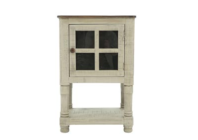 Image for AUGUSTA GRAY AND TOBACCO ACCENT TABLE