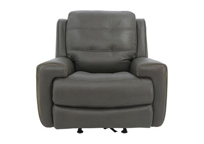 Image for WICKLOW POWER DARK BROWN RECLINER