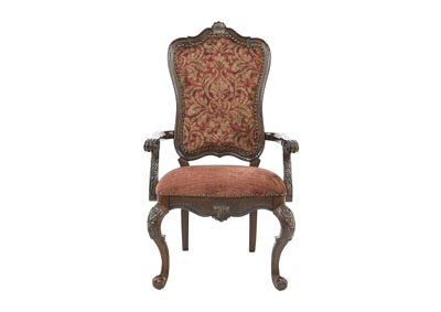 Image for GENEVIEVE UPHOLSTERED ARM CHAIR