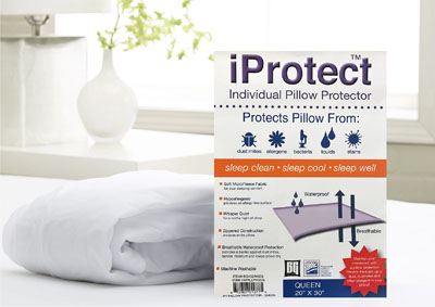 Image for KING iPROTECT PILLOW PROTECTOR