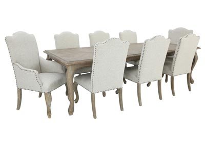 Image for CAMPANIA 9 PIECE DINING SET