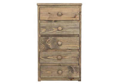 SILAS MOSSY OAK 5 DRAWER CHEST